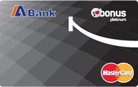 Abank Bonus Platinum kredi kartı görseli.
