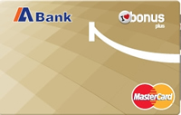 ABank Bonus Plus kredi kartı görseli.