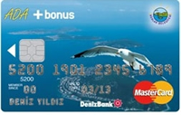 Ada Bonus Platinum kredi kartı görseli.