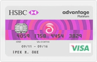 Advantage Hızz Gold kredi kartı görseli.