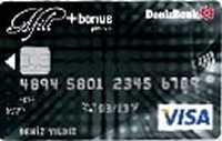 Afili Bonus Platinum kredi kartı görseli.