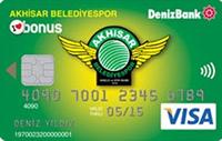 Akhisar Belediyespor Bonus kredi kartı görseli.