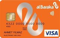 Albaraka World kredi kartı görseli.