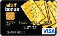 Altın Bonus kredi kartı görseli.