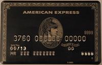 American Express Gold kredi kartı görseli.