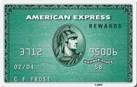 American Express kredi kartı görseli.