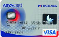 AsyaCard kredi kartı görseli.