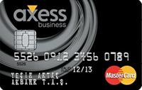 Axess Business kredi kartı görseli.