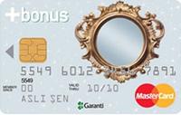 Aynalı Bonus Premium kredi kartı görseli.