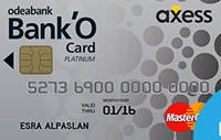 Bank'O Card Axess Platinum Kredi Kartı Görseli