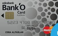 Bank'O Card Platinum Kredi Kartı Görseli
