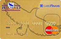 BİLMED Gold Kart kredi kartı görseli.