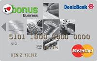 Bonus Business Card kredi kartı görseli.