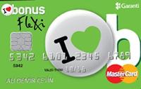 Bonus Flexi kredi kartı görseli.