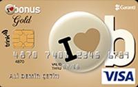 Bonus Gold Trink kredi kartı görseli.