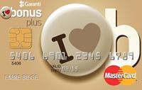 Bonus Gold kredi kartı görseli.
