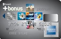 Bonus Platinum American Exp. kredi kartı görseli.