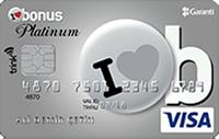 Bonus Platinum Trink kredi kartı görseli.