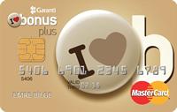 Bonus Plus kredi kartı görseli.