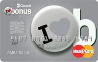 Bonus Premium kredi kartı görseli.