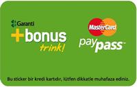 Bonus Trink kredi kartı görseli.