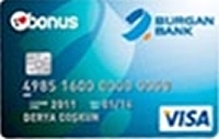 Burgan Bonus Plus kredi kartı görseli.
