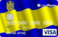 CardFinans Ankaragücü kredi kartı görseli.