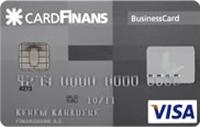 CardFinans Business kredi kartı görseli.