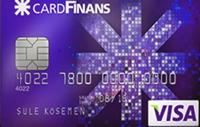 CardFinans GO Angry Birds Çalışan kredi kartı görseli.