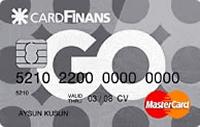 CardFinans GO kredi kartı görseli.