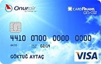 CardFinans On-Air kredi kartı görseli.