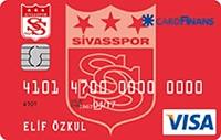 CardFinans Sivasspor kredi kartı görseli.
