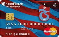 CardFinans Trabzonspor kredi kartı görseli.