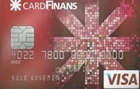 CardFinans Xtra kredi kartı görseli.