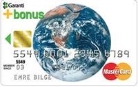 Çevreci Bonus kredi kartı görseli.