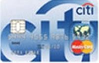 Citi Klasik kredi kartı görseli.