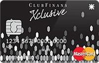 ClubFinans Xclusive kredi kartı görseli.