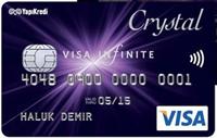 Crystal kredi kartı görseli.