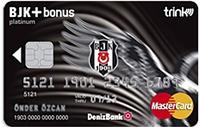 DenizBank BJK Bonus kredi kartı görseli.
