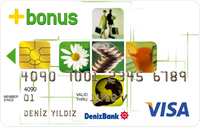 DenizBank Bonus kredi kartı görseli.