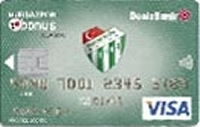 DenizBank Bursaspor Bonus kredi kartı görseli.