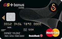 DenizBank GS Bonus kredi kartı görseli.