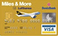 DenizBank Miles & More Gold kredi kartı görseli.