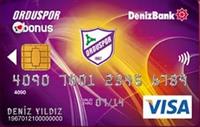 DenizBank Orduspor Bonus kredi kartı görseli.