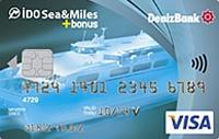 DenizBank Sea & Miles Bonus kredi kartı görseli.