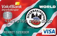 Vakıfbank Diyarbakırspor Kart kredi kartı görseli.