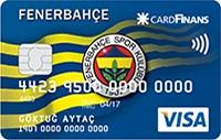 Fenerbahçe CardFinans kredi kartı görseli.