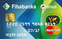 Fibabanka Bonus Gold kredi kartı görseli.