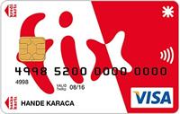 Fix Card kredi kartı görseli.