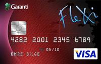 Flexi kredi kartı görseli.